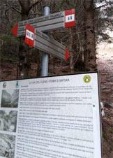 Via Normale Pizzo Pianezza - Cartelli segnavia