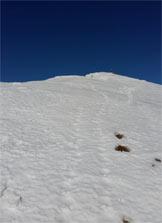 Via Normale Monte Tornone - Lungo la cresta