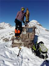 Via Normale Monte Tornone - In cima