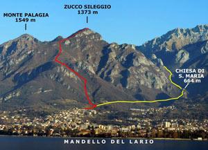 Via Normale Zucco Sileggio