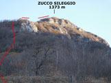 Via Normale Zucco Sileggio - In salita