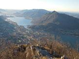 Via Normale Corna di Medale – Monte Coltignone - Immagine ripresa dalla vetta della Corna di Medale