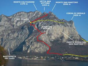 Via Normale Monte San Martino