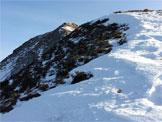 Via Normale Cima Barbignaga  - La cresta verso la vetta