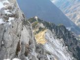 Via Normale Musi (Cima Ovest) - Il Bivacco Brollo dalla cima