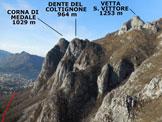 Via Normale Pizzo Boga  - Panorama di vetta, verso SW