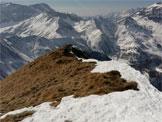 Via Normale Monte Pomnolo - Cresta di salita