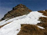 Via Normale Monte Pomnolo - Verso la vetta