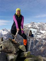 Via Normale Monte Pomnolo - In vetta