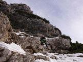 Via Normale Piz di Mezzodì Cima Nord - Tratto di roccette
