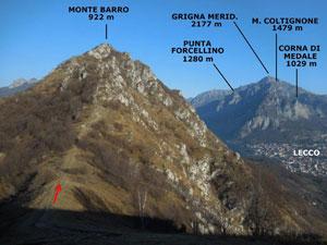 Via Normale Monte Barro