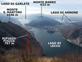 Via Normale Punta Forcellino - Panorama di vetta, verso S