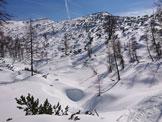 Via Normale Monte Pena - La cima