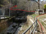 Via Normale Cima Calolden - All'inizio della Val Calolden