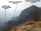 Via Normale Cima Calolden - Panorama di vetta, verso S