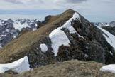 Via Normale Sass de Roca - Ultimo tratto verso la cima