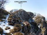 Via Normale Corna Camozzera - A poche decine di metri dalla vetta