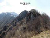 Via Normale Monte Ocone (traversata) - Sulla dorsale N del Monte Ocone