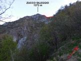Via Normale Zucco Sileggio - Cresta SE - In salita