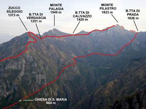 Via Normale Monte Pilastro
