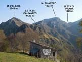Via Normale Monte Pilastro - Immagine ripresa pochi metri a N della vetta dello Zucco Sileggio