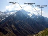 Via Normale Monte Pilastro - Panorama di vetta sulle Grigne