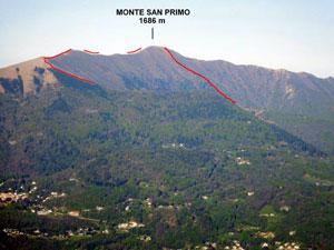 Via Normale Monte San Primo - Vers. N