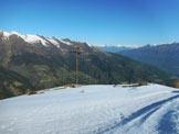 Via Normale Monte Motta - Cima del Larice - In vetta al Monte Motta