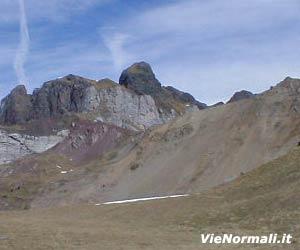 Via Normale Sass de Roca Est