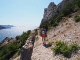 Via Normale Bec de Sormiou (Via L'Antecime) - Sentiero di avvicinamento