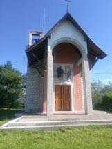 Via Normale Monte Tomba - Chiesetta di San Bastian