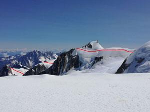 Via Normale Monte Bianco