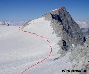 Via Normale Monte Adamello (cresta E)