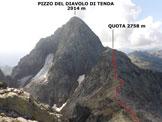 Via Normale Pizzo dell'Omo - Panorama di vetta, verso S