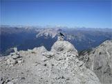 Via Normale Monte Brentoni - Panorama dalla cima