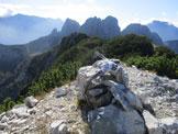 Via Normale Monte Sciober Grande - Panorama dalla cima