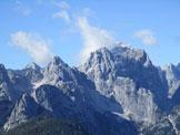 Via Normale Monte Sciober Grande - Panorama dalla Portella