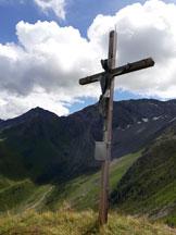 Via Normale Campalto (Hochfeld) - La croce di vetta