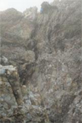 Via Normale Pala di San Martino - Traverso delicato tra la 3a e 4a torre