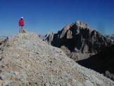 Via Normale Cima Ombretta di Mezzo - Sulla cima