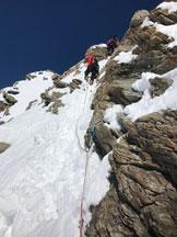 Via Normale Gross e Hinter Fiescherhorn - L'impegnativa cresta di misto del Gross Fiescherhorn