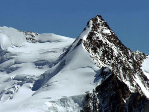 Via Normale Punta Dufour Cresta Ovest