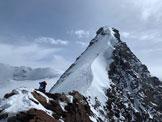Via Normale Punta Dufour Cresta Ovest - La bella cresta ovest della Dufour