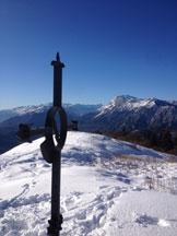 Via Normale Monte Valinis - panorama dalla cima del Valinis