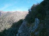 Via Normale Monte Argentea - Cresta Rio Guadi Arenzano - Durante l'avvicinamento