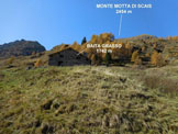 Via Normale Monte Motta di Scais - In salita, alla Baita Grasso