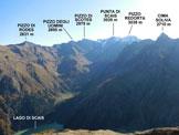Via Normale Monte Motta di Scais - Panorama di vetta, verso E
