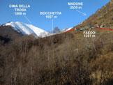 Via Normale Madone (di Mergoscia) – Cresta SSW - In salita, poco prima di Faedo