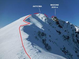 Via Normale Madone (di Mergoscia) – Cresta E