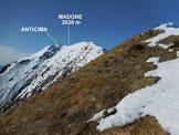Via Normale Madone (di Mergoscia) – Cresta E - Sulla cresta E del Madone, da poco sopra Redrisc